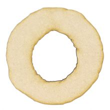 Christmas Wreath 3mm MDF, Craft Blanks, Family Fun Shape for decorating
